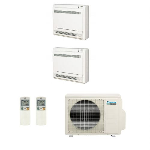 Daikin Air conditioning Multi 2MXS50H Heat Pump Inverter 2 x FVXS35F Floor/Console A+++ 240V~50Hz